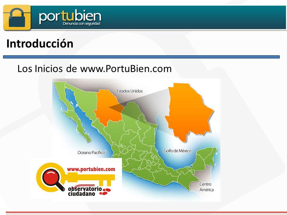 Introducción Los Inicios de www.PortuBien.com