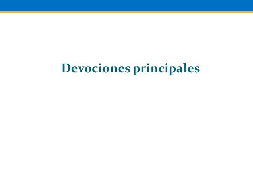 Devociones principales