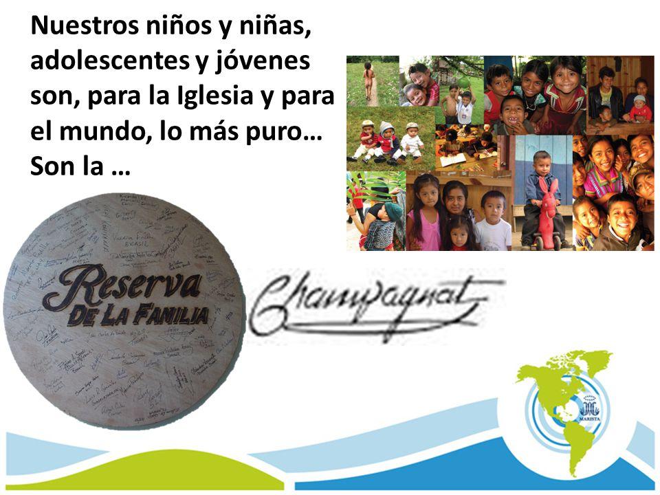 Nuestros niños y niñas, adolescentes y jóvenes son, para la Iglesia y para el mundo, lo más puro… Son la …