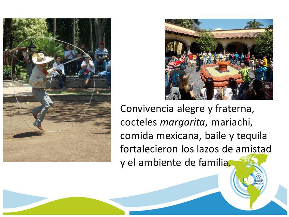 Convivencia alegre y fraterna, cocteles margarita, mariachi, comida mexicana, baile y tequila fortalecieron los lazos de amistad y el ambiente de fami