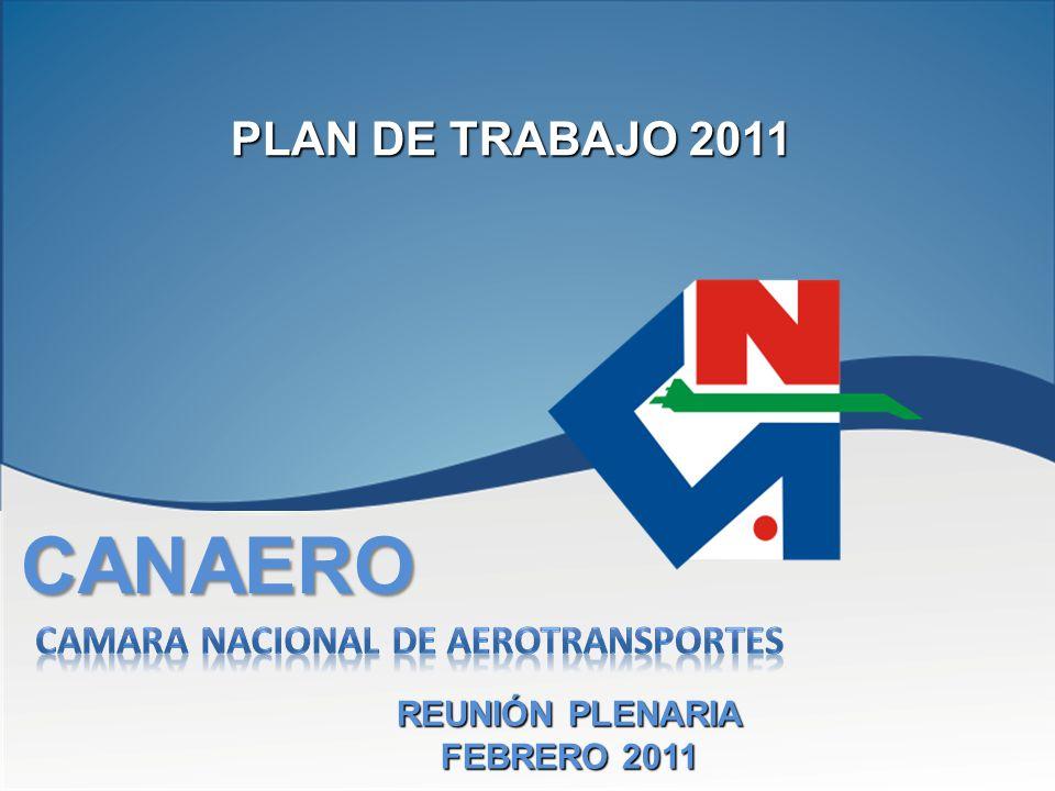CANAERO REUNIÓN PLENARIA FEBRERO 2011 PLAN DE TRABAJO 2011