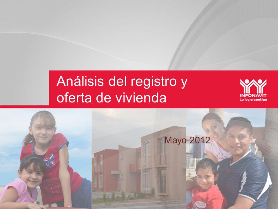 Análisis del registro y oferta de vivienda Mayo 2012