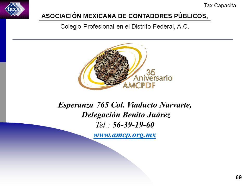 Tax Capacita 69 Esperanza 765 Col.
