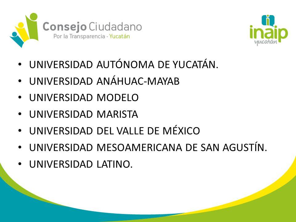 UNIVERSIDAD AUTÓNOMA DE YUCATÁN.