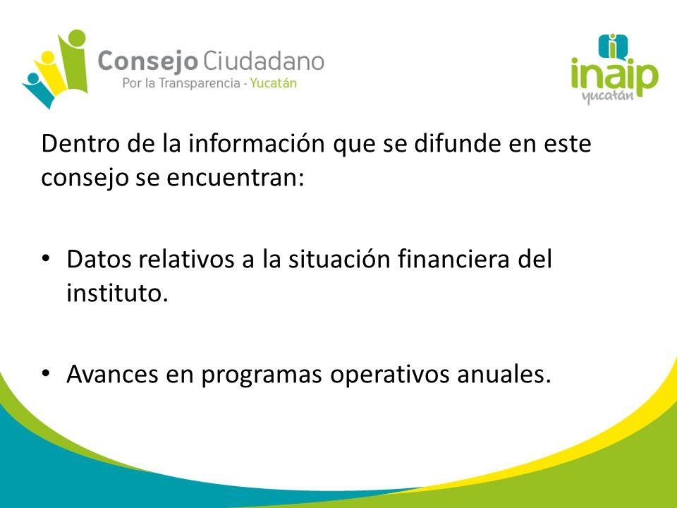 Estadísticas de la situación que guardan los derechos de acceso a la información pública y de protección de datos personales en la entidad.