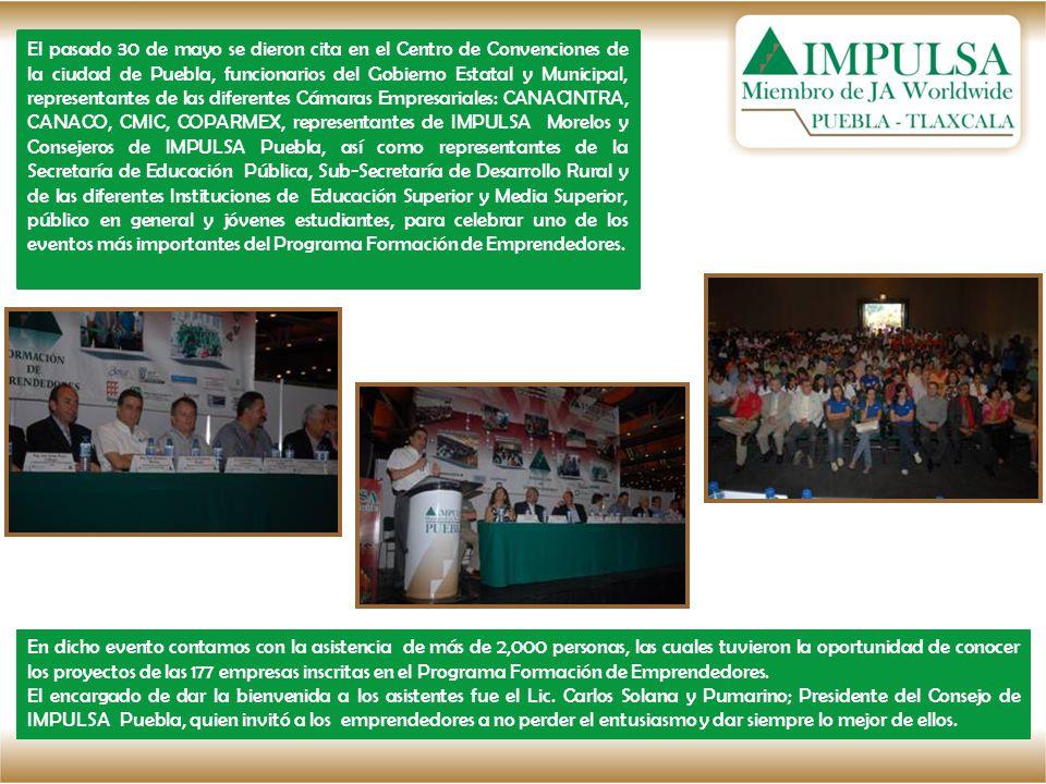 El pasado 30 de mayo se dieron cita en el Centro de Convenciones de la ciudad de Puebla, funcionarios del Gobierno Estatal y Municipal, representantes