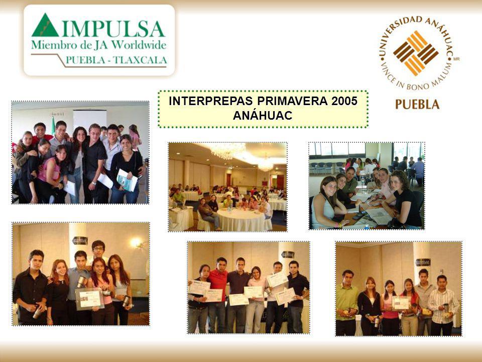 INTERPREPAS PRIMAVERA 2005 ANÁHUAC