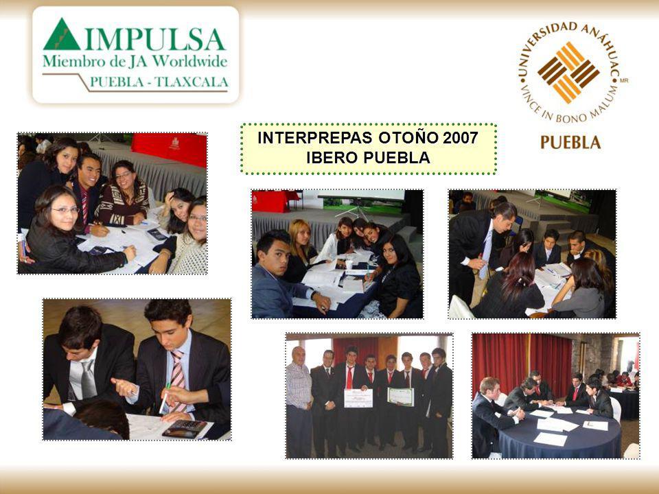 INTERPREPAS OTOÑO 2007 IBERO PUEBLA