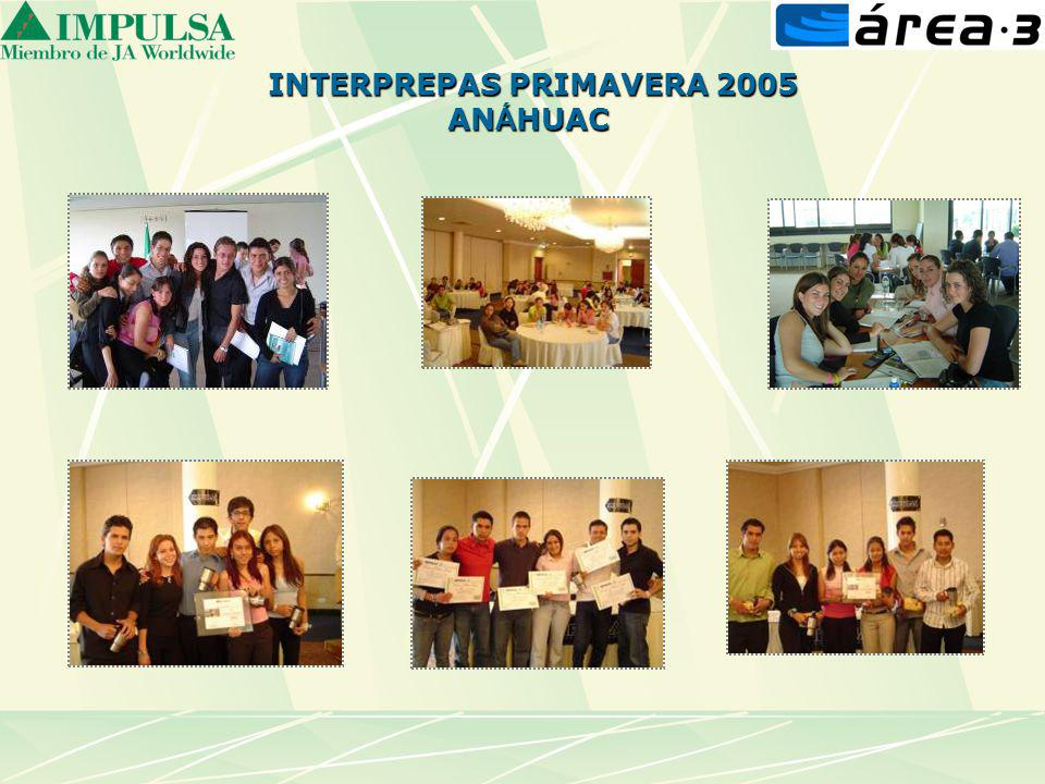 INTERPREPAS PRIMAVERA 2005 AN Á HUAC