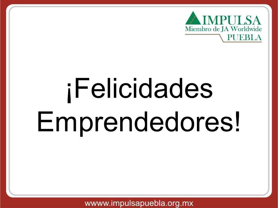 ¡Felicidades Emprendedores!