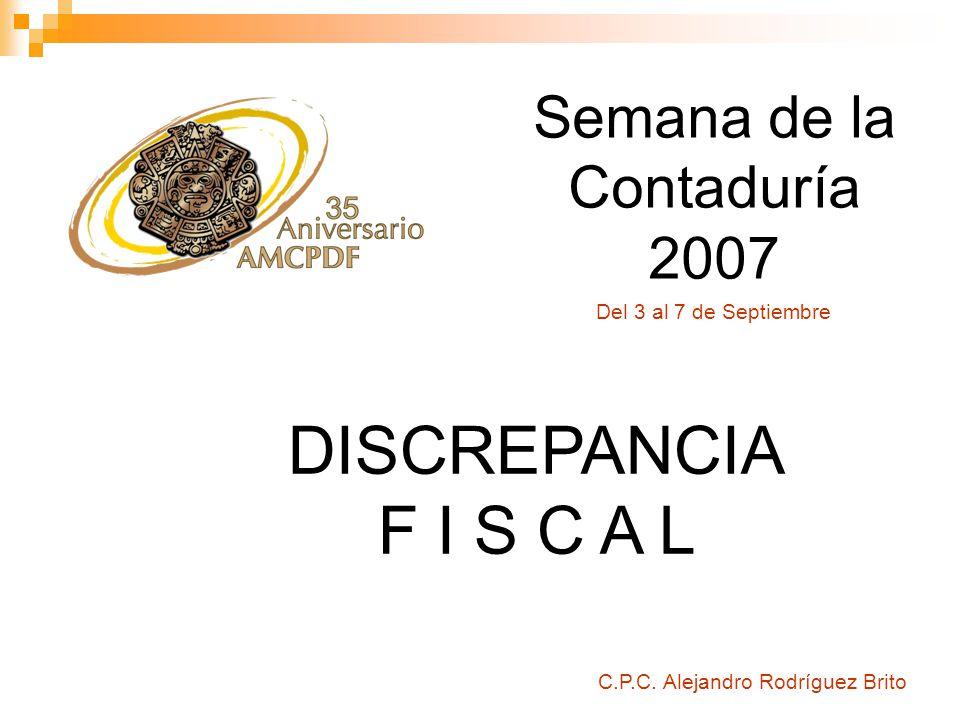 Semana de la Contaduría 2007 C.P.C.