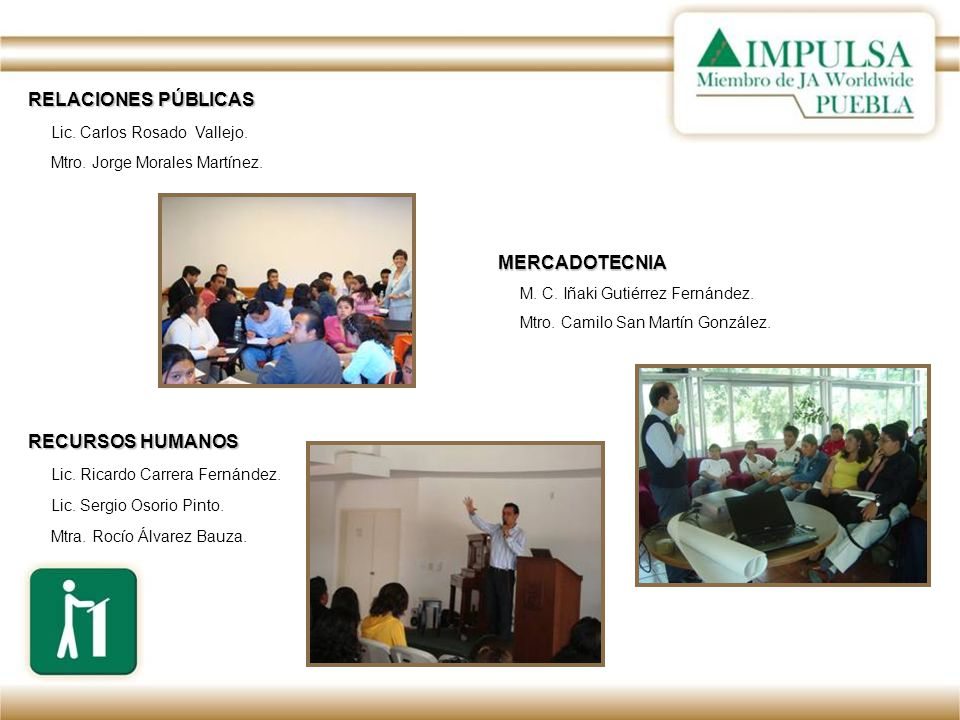 El Director de IMPULSA Puebla, agradeció al Rector de la UDLAP; Dr.