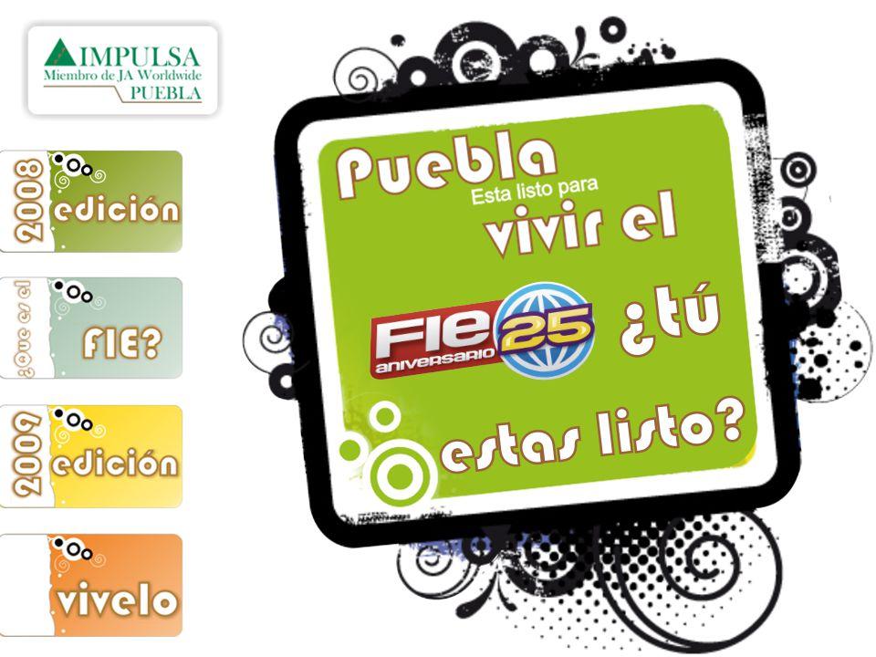 En la edición 2008 Puebla fue la Mejor Delegación, el premio más importante para una delegación, la copa es la recompensa a la puntualidad, organización, presencia, pero sobre todo al trabajo en equipo que se vio reflejado durante el FIE.