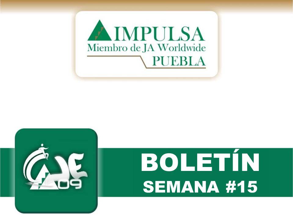 BOLETÍN SEMANA #15