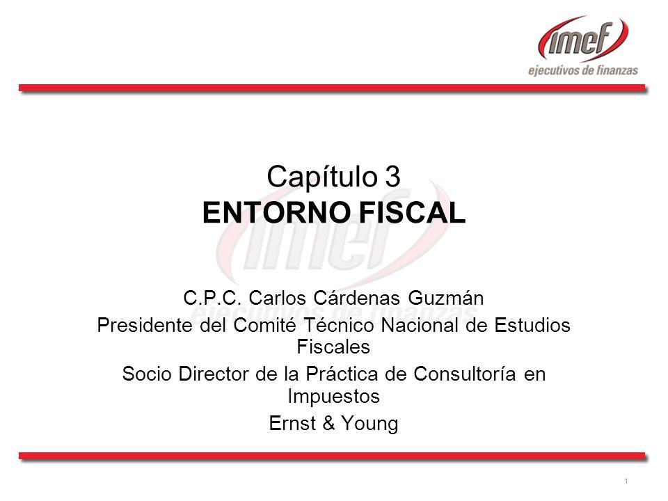 1 Capítulo 3 ENTORNO FISCAL C.P.C.
