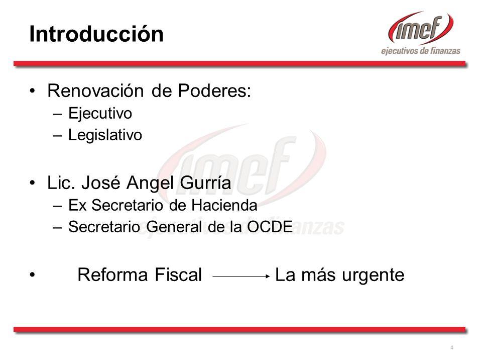 25 ¿Qué Reformas Fiscales requiere México.