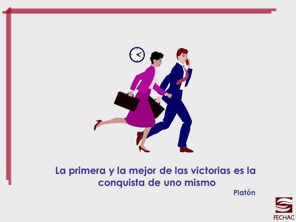 La primera y la mejor de las victorias es la conquista de uno mismo Platón