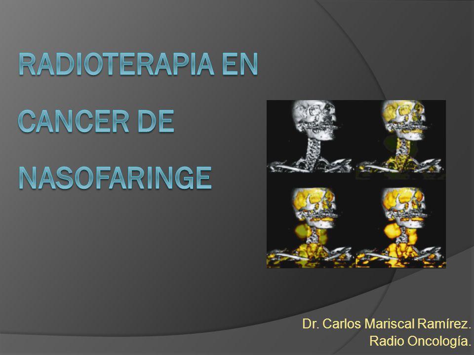 Dr. Carlos Mariscal Ramírez. Radio Oncología.