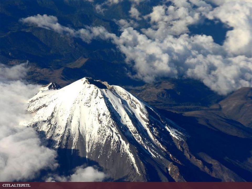 Volcán Citlaltepetl (también conocido como Pico de Orizaba), en el Estado de Veracruz. Es la cumbre más alta del país. Observe the Citlaltepetl volcan