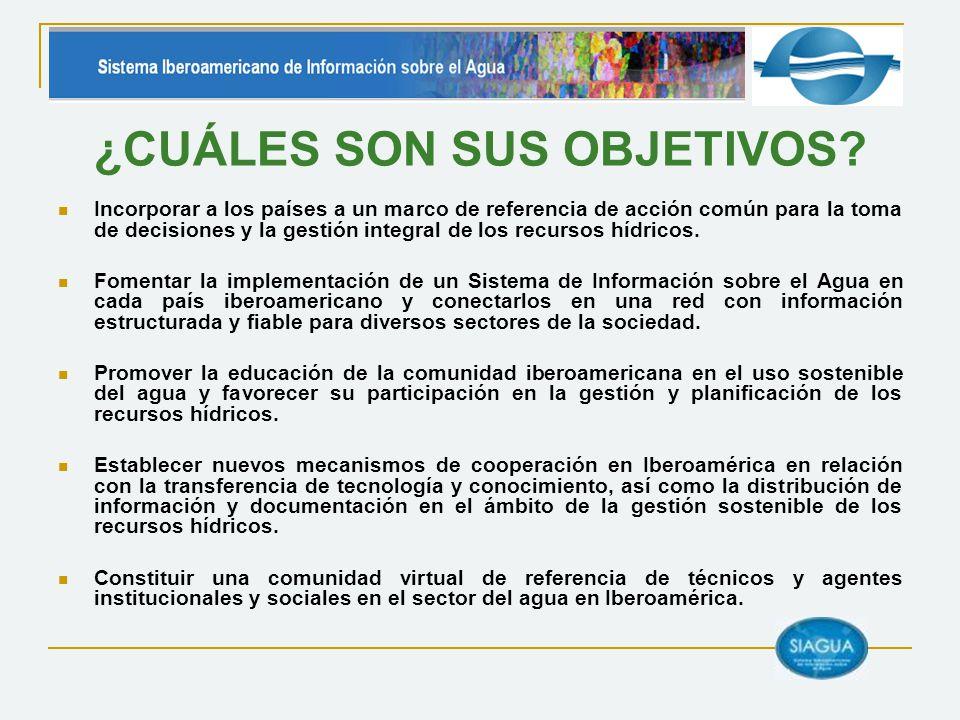 VI JORNADAS TÉCNICAS DE SIAGUA CONCLUSIONES Más información: http://www.siagua.org/?pid=319