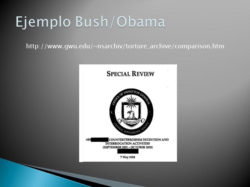 http://www.gwu.edu/~nsarchiv/torture_archive/comparison.htm
