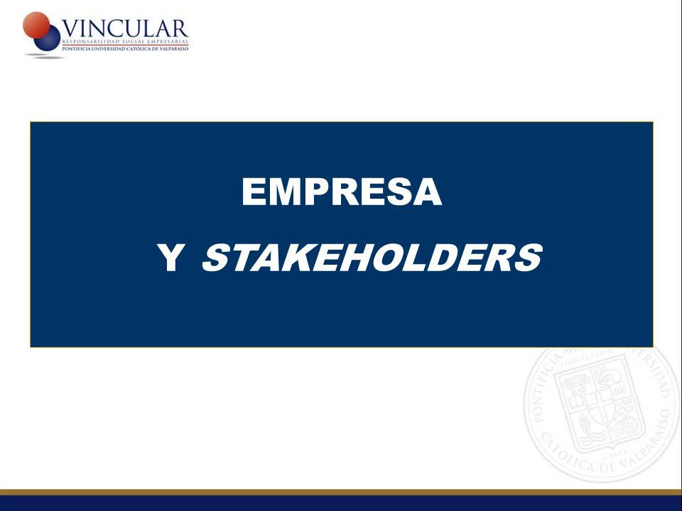 EMPRESA Y STAKEHOLDERS