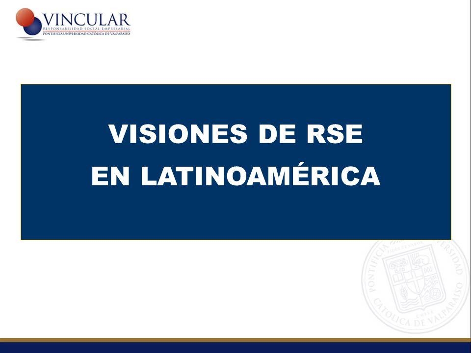 VISIONES DE RSE EN LATINOAMÉRICA