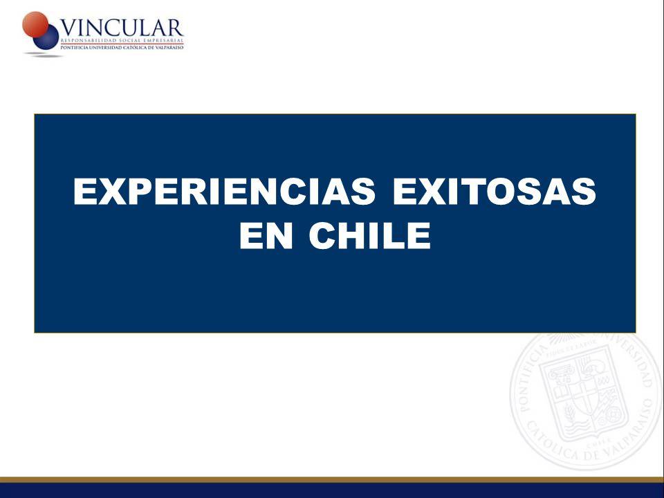 EXPERIENCIAS EXITOSAS EN CHILE