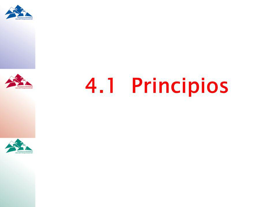 4.1 Principios