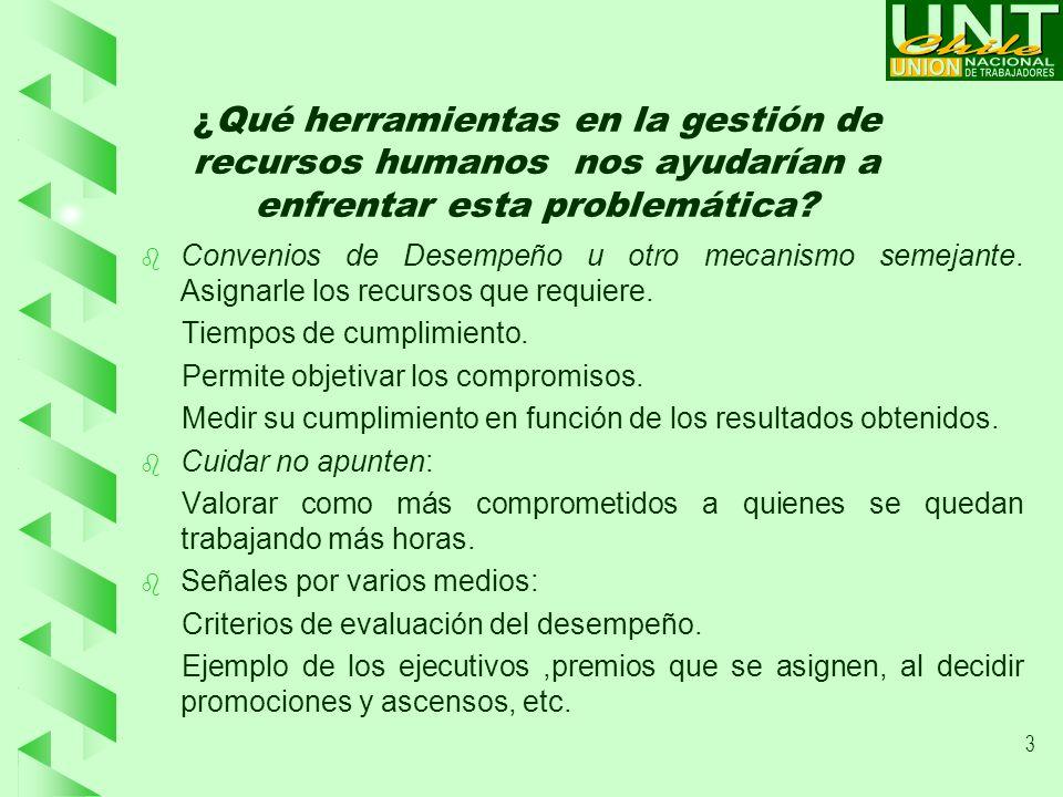 4 ¿ Cuáles son las principales preocupaciones de los trabajadores en este sentido.