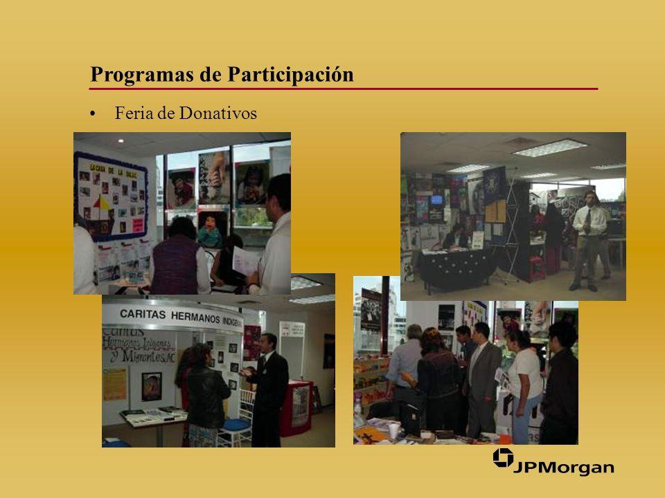 Programas de Participación Colecta de Juguetes y Ropa para Reyes