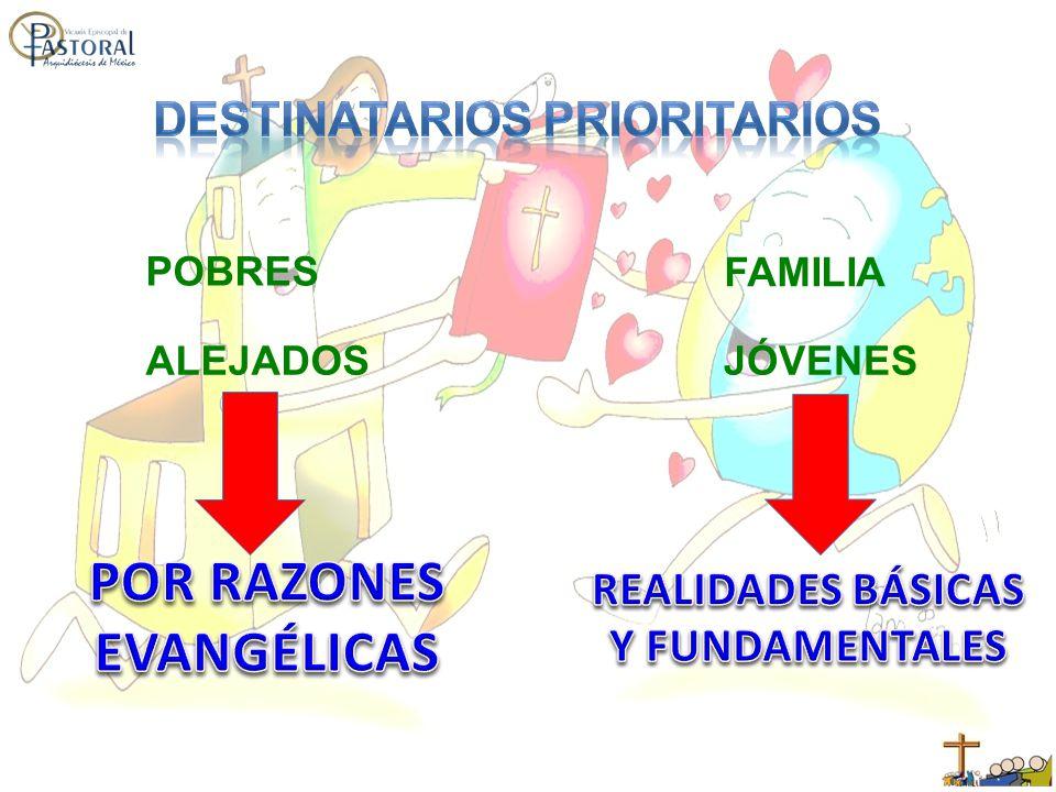 POBRES ALEJADOS FAMILIA JÓVENES