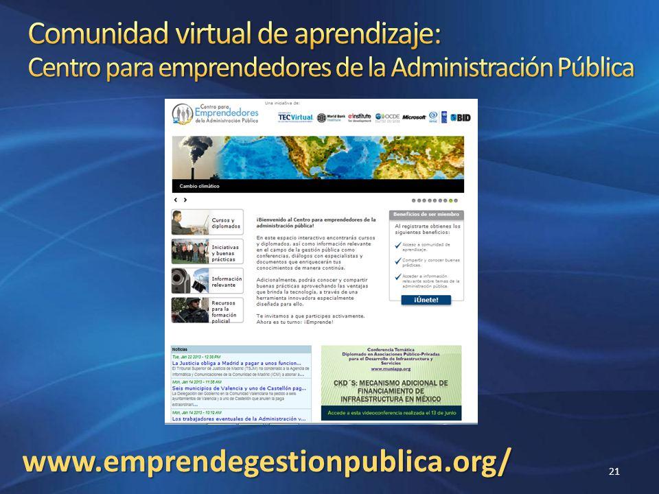 www.emprendegestionpublica.org/ 21