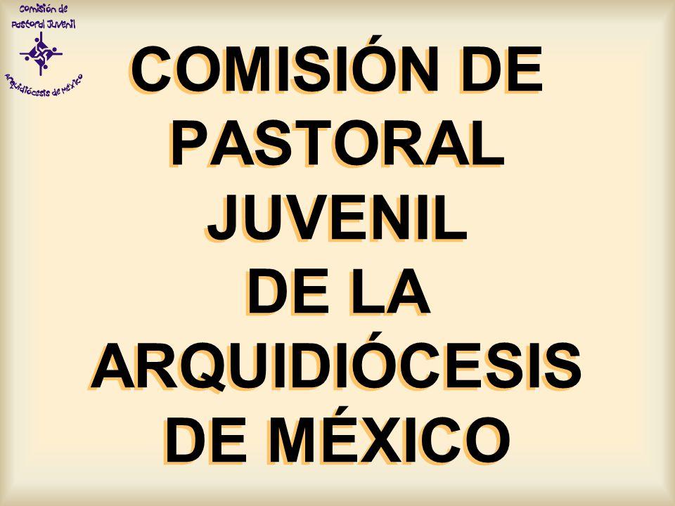 COMISIÓN DE PASTORAL JUVENIL DE LA ARQUIDIÓCESIS DE MÉXICO