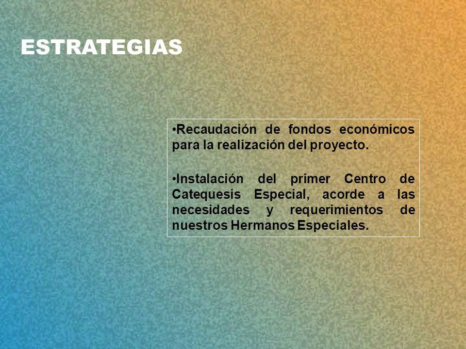 Recaudación de fondos económicos para la realización del proyecto.