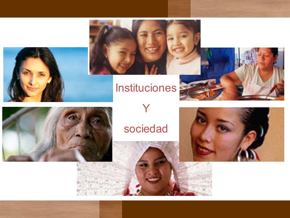 Instituciones Y sociedad