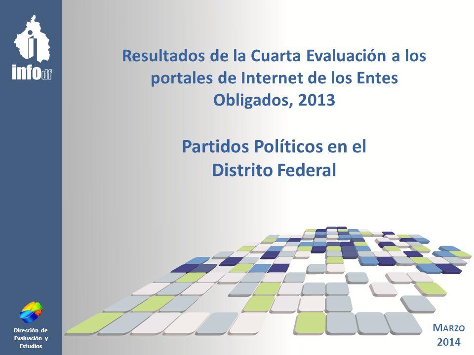 O B J E T I V O 2 De conformidad con lo establecido en el Artículo 71, fracción VIII y XI de la Ley de Transparencia y Acceso a la Información Pública del Distrito Federal (LTAIPDF); del Artículo 23, fracción V del Reglamento Interior del InfoDF; así como en cumplimiento del Programa Operativo Anual 2013 del InfoDF y con base en los Criterios y metodología de evaluación de la información pública de oficio que deben dar a conocer en sus portales de la Internet los Partidos Políticos en el Distrito Federal aprobados mediante Acuerdo 0900/SO/06- 07/2011.