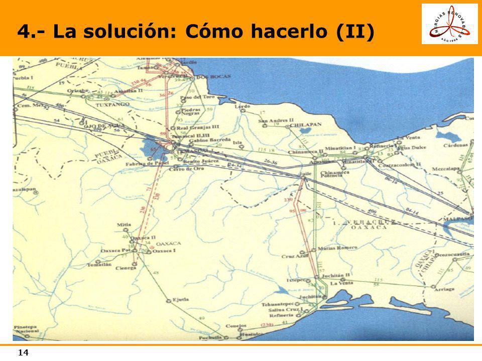 15 Previsiones de aumento de la capacidad de transmisión entre Regiones Eléctricas (2001).
