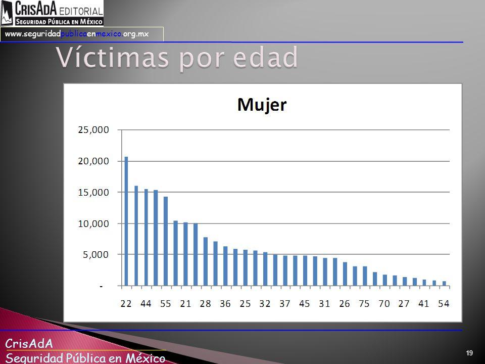CrisAdA Seguridad Pública en México www.seguridadpublicaenmexico.org.mx 19