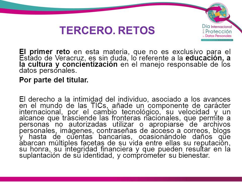 TERCERO.