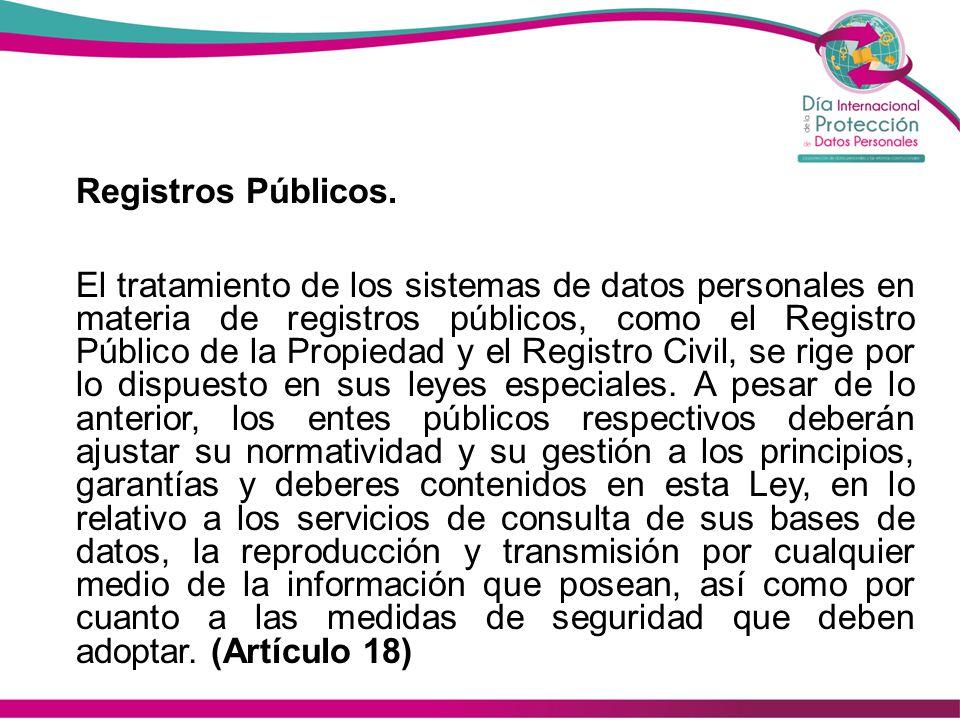 Registros Públicos.