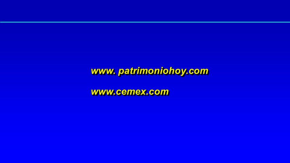 www. patrimoniohoy.com www.cemex.com