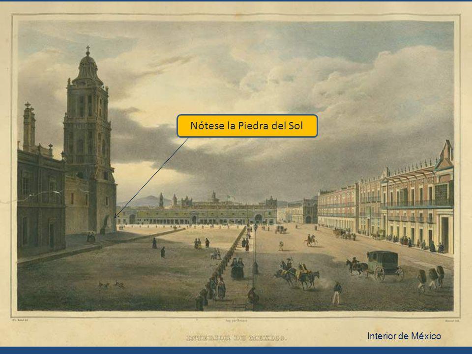 Plaza Mayor de México Nótese el toldo del balcón Otra pintura del mismo Nebel