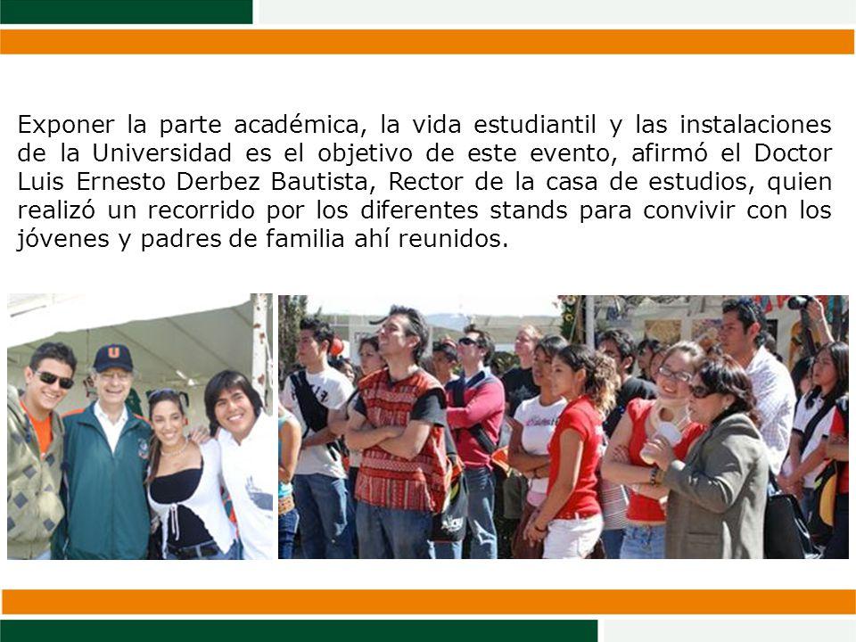 IMPULSA Puebla fortalece su presencia al formar alianzas con instituciones educativas de vanguardia, en esta ocasión con la Universidad de las Américas Puebla, al formar parte de la Expo UDLAP Otoño 2008, promocionando el 7º Certamen de Simulación de Negocios Interpretas 2008, a efectuares los días 27, 28 y 29 de Octubre.