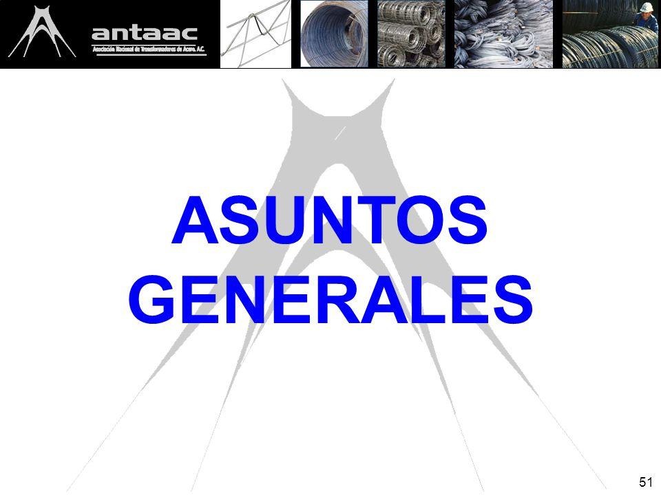 ASUNTOS GENERALES 51