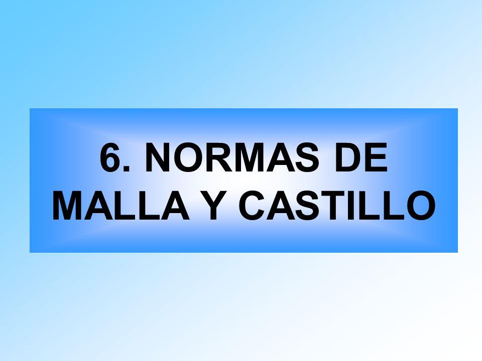 6. NORMAS DE MALLA Y CASTILLO