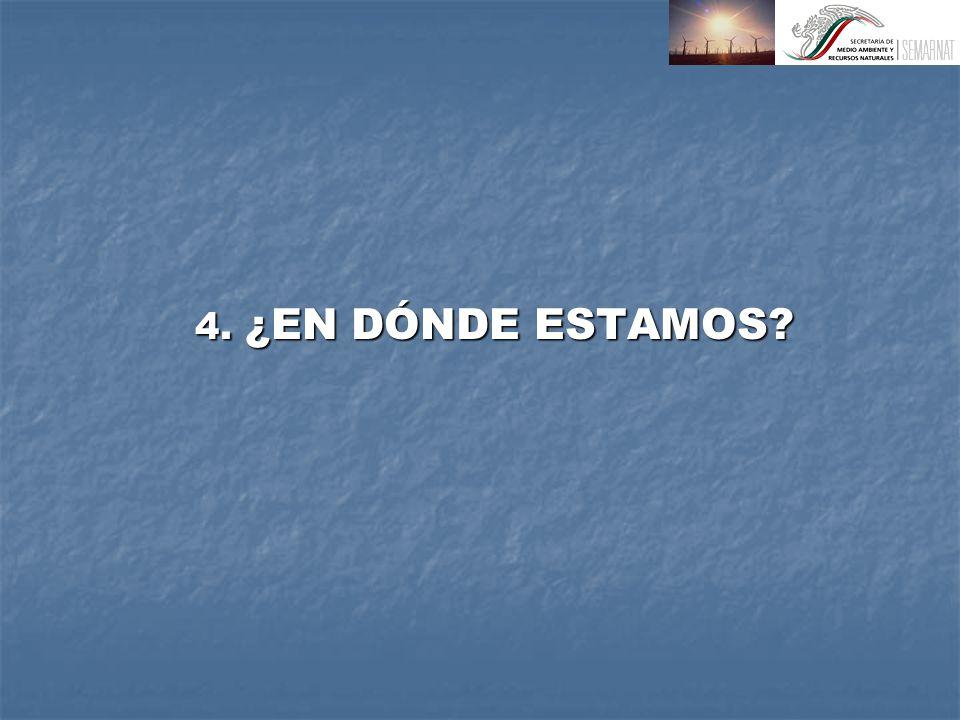 4. ¿EN DÓNDE ESTAMOS