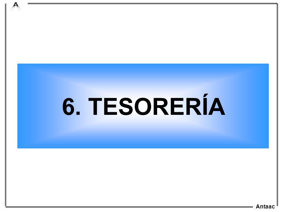 Antaac 6. TESORERÍA