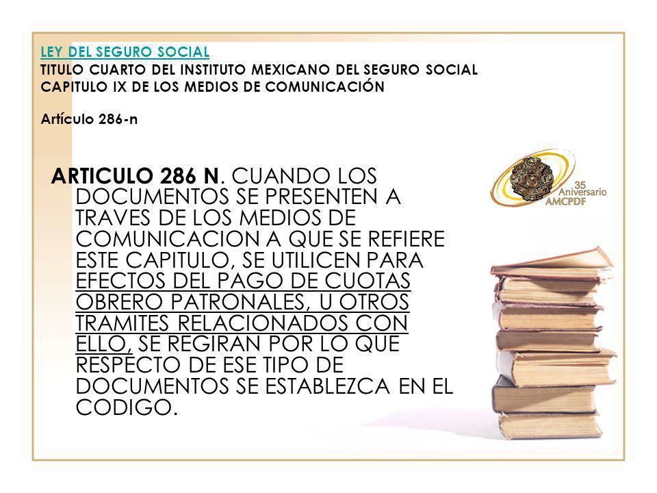 ARTICULO 286 N.