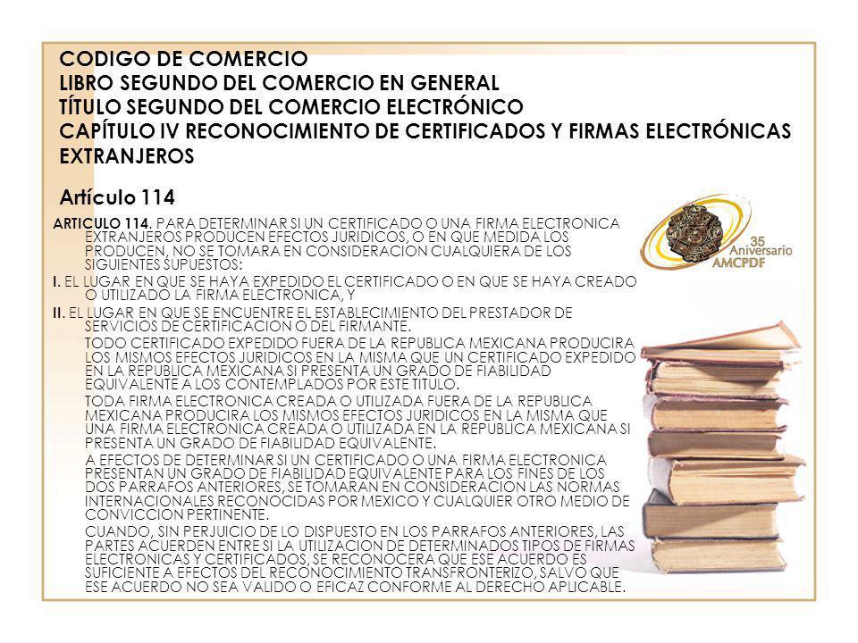 ARTICULO 114.